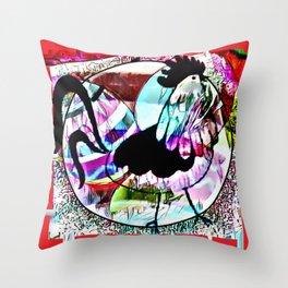 Cabsink17DesignerPatternCHE Throw Pillow