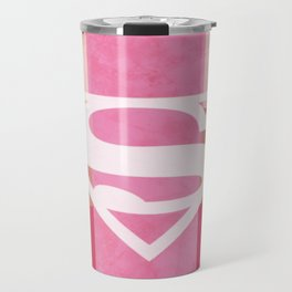 Girly Superman Logo Travel Mug