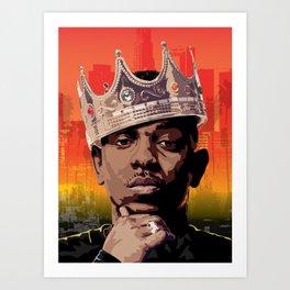 King Kendrick Art Print