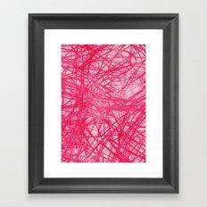 Ophelia Pink Framed Art Print