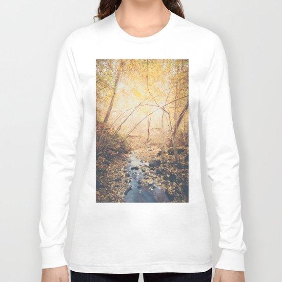 Blue cola mountain Long Sleeve T-shirt
