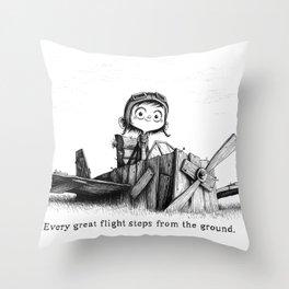 Young Howard Throw Pillow