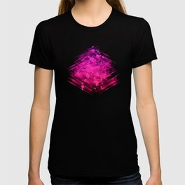 The Wizard's Box Neon Abstract T-shirt
