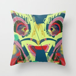 Condors cousin Throw Pillow