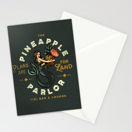 The Pineapple Parlor: Plans Are For Land Stationery Cards