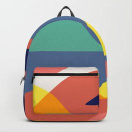 Color mountains Backpack