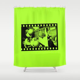 Clever Yoshis Shower Curtain