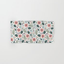 Blush Blooms Hand & Bath Towel
