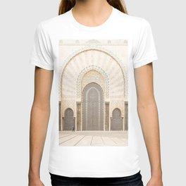 Perspective - Hassan II Mosque - Casablanca, Morocco T-shirt