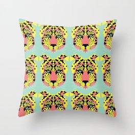 Modular Cheetah Throw Pillow