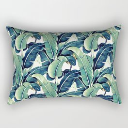 Banana leaves Rectangular Pillow