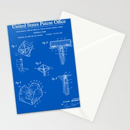 Baseball Base Patent - Blueprint Stationery Cards