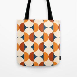 60s Beans Pattern Tote Bag