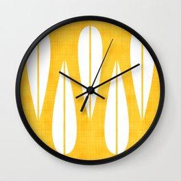 Make Mine MCM Orange Wall Clock