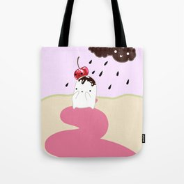 Chocolate Rain Tote Bag