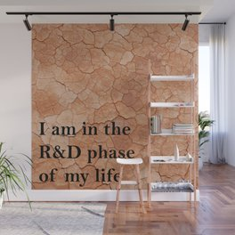 R&D phase of my life Wall Mural