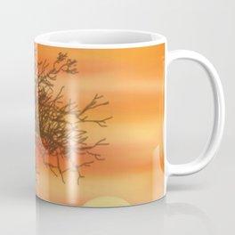 Faded Orange Sunset Coffee Mug