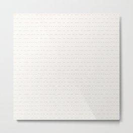Coit Pattern 54 Metal Print