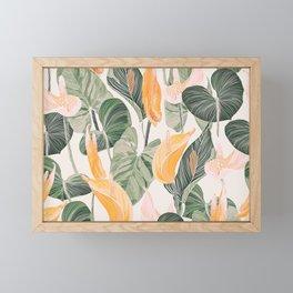 Lush Lily - Autumn Framed Mini Art Print