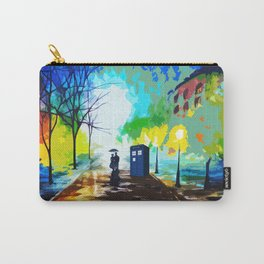 Tardis Art Love Story Carry-All Pouch