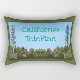 California TelePine Rectangular Pillow