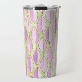 #40. JULIA - Feather/Leaves Travel Mug
