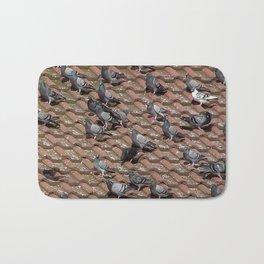 Pigeons on the Roof Bath Mat