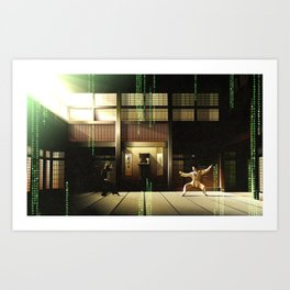The Matrix Art Print