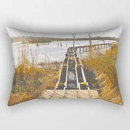Hurricane Ike & Lesser Damage Rectangular Pillow