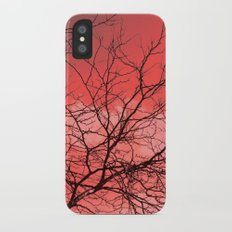 Branches in the Red Sky Slim Case iPhone X