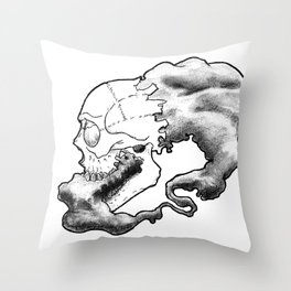 Ouroboros  Throw Pillow
