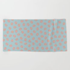 Brain Beach Towel