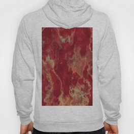 marble red yellow background Hoody