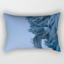 Sacred Blue Rectangular Pillow
