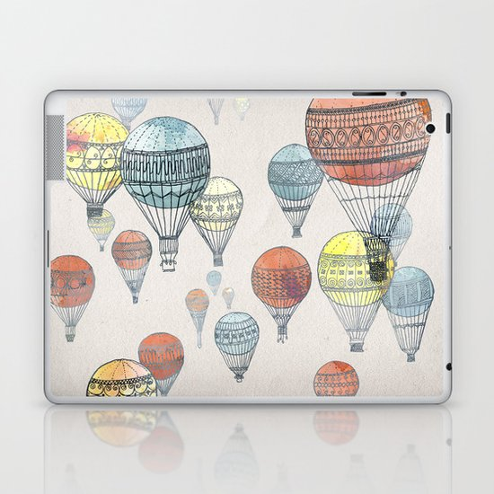 Voyages Laptop & iPad Skin