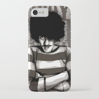 phil jones iPhone & iPod Cases featuring Phil Lynott by Denis O'Sullivan