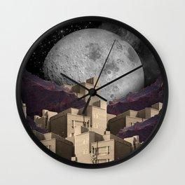 City Sleeps. Wall Clock