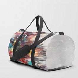 Rainy London Duffle Bag