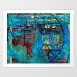 Weather System Art Print