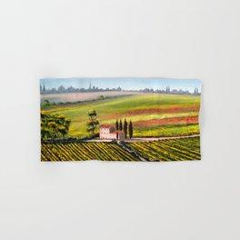 Vineyards In Tuscany Italy Hand & Bath Towel