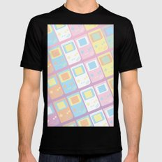 Pastel Gameboy Dreams Black MEDIUM Mens Fitted Tee