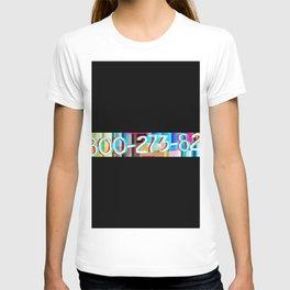 National Suicide Prevention Hotline T-shirt