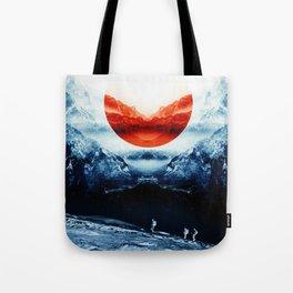 mission blue Tote Bag