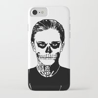 kris tate iPhone & iPod Cases featuring Tate  by Kramcox
