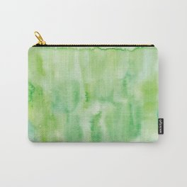 Watercolor abstract many color no.18 Carry-All Pouch
