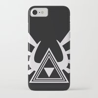 triforce iPhone & iPod Cases featuring triforce by Black