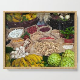 Healthy ingredients Serving Tray