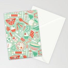 Christmas Baking Stationery Cards