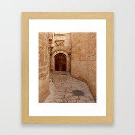 Door in Israel 1 - M Framed Art Print