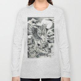 Alicorn Sphynx Long Sleeve T-shirt